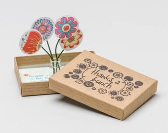 Personalised 'Thanks a Bunch' Thank You Gift Box | Thank You Gift