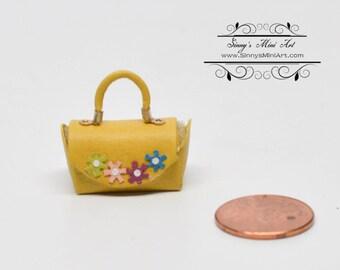 1:12 Hand Made Miniature Handbag/ Dollhouse Miniature Purses