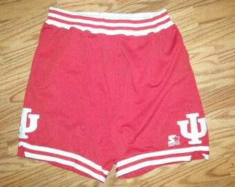 Vintage Indiana Hoosiers I.U. basketball shorts