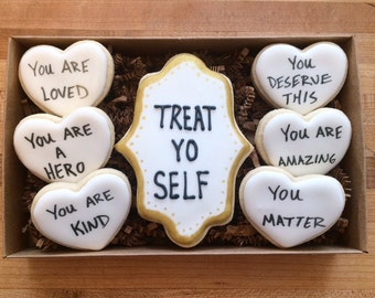 Treat yo self cookie gift box