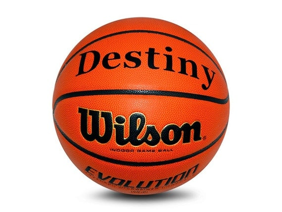 Customized Personalized Wilson Evolution Indoor NCAA Official Size 29.5 Basketball
