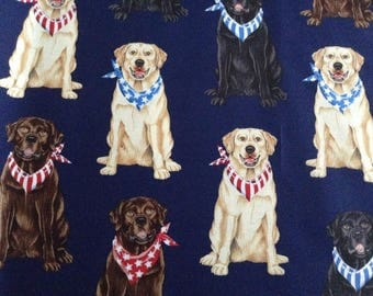 Labrador Dog Breed Fabric by Timeless Treasures