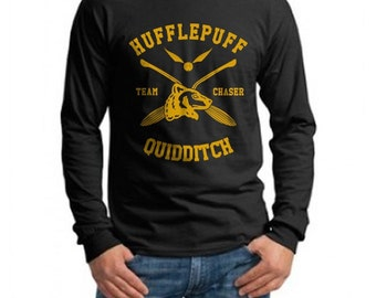 CHASER - Huffle Quidditch team Chaser on Longsleeve MEN tee
