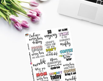 MOM LIFE Planner Stickers CAM00102