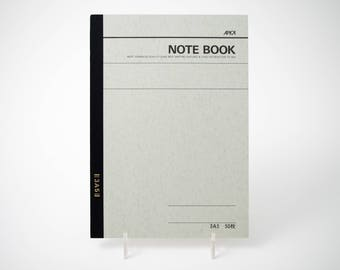 "Apica 3A5 basic notebook, 6"" x 8"", lined"