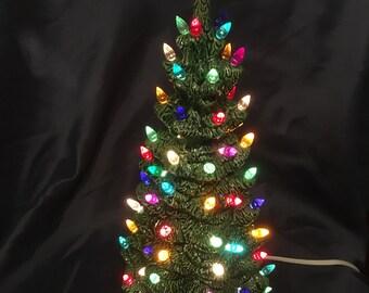 ceramic christmas tree - Ceramic Christmas Lights