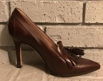 Leather Manolo Blahnik Pumps
