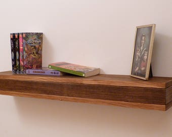 Floating Shelf, Wooden Floating Shelf, Floating Shelves, Livingroom Decor, Bathroom Decor, Ledge Shelf