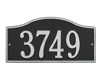 Rolling Hills One Line Address Plaque