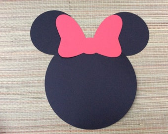 Minnie plates/red Minnie mouse decorations/Minnie mouse Placemats/red minnie mouse decorations/Minnie Mouse Placemats/Minnie birthday party