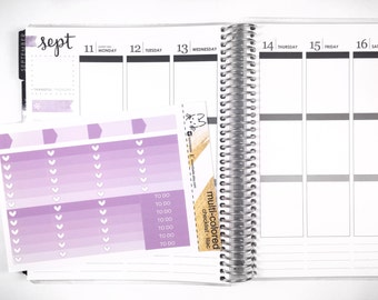 Lilac Ombre Heart Checklist! Perfect for the Erin Condren Life Planner!