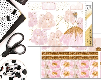 Be A Princess FULL KIT! Perfect For The Erin Condren Life Planner!