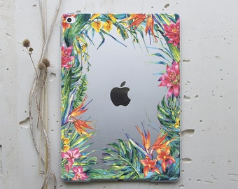 Floral iPad Case iPad Mini Case iPad 2 Hard Case iPad Stand iPad 4 Case iPad Mini 2 iPad Mini 4 Case iPad Air 2 Case iPad Pro 12.9 Case i043