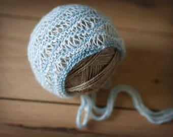 Wave Newborn Bonnet