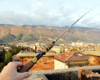 Vintage fishing rod Fishing pole Fly fishing Fishing gear Fly fishing rod Fishing stuff Fly fishing pole Spin rod Fly fishing reel rod