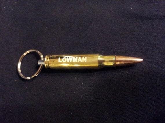 custom engraved 308 cal bullet bottle opener gift for men. Black Bedroom Furniture Sets. Home Design Ideas