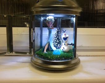Hand crafted frozen night lights