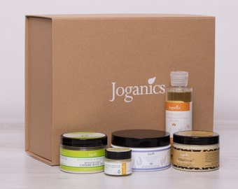 End of winter SALE***ORGANIC and natural VEGAN cosmetic gift box