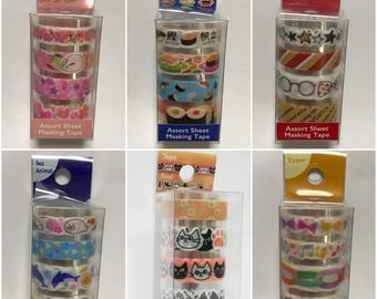 Naminami Masking Tape Set