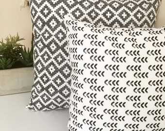 """Tribal pillow, baby nursery, pillow cover, tribal, aztec, modern pillow covers, 14"""", 16"""", 18"""" home accent, gender neutral, nursery bedding"""