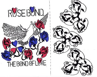 ROSE BOND (card stock pics)
