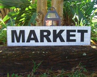 Kitchen Market Sign,Kitchen Decor,Rustic Kitchen Decor,Country Kitchen,Breakfast Nook,Market Sign,Dining Room Decor,Housewarming