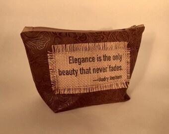 Elegance Quote Make Up Bag