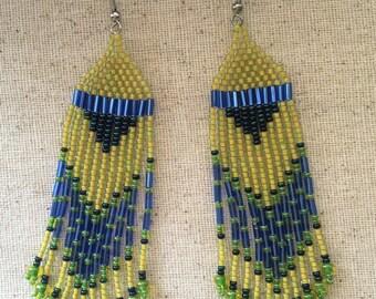 Boho Chic Dangle Earrings