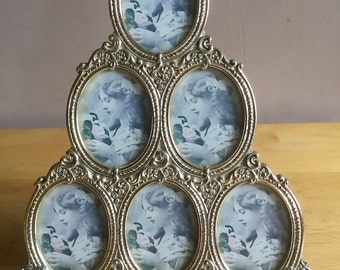 Vintage Metalic Photo Frame - From Past Times