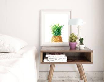 Pineapple Print - Tropical Fruit Print - Pineapple Top Print