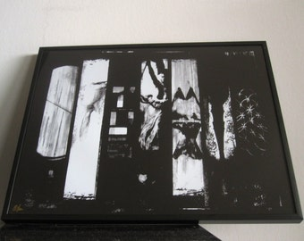 Coldplay - Modern Art - The 7 Album Covers - Abstract - signed - Chris Martin - Fine Art Print - A Rush of Blood to the Head - XOXO
