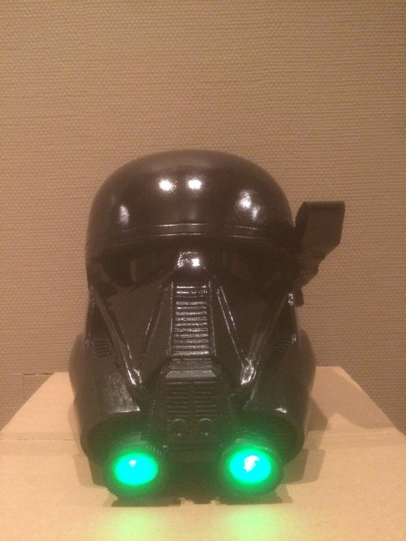 death trooper helmet by rusotech on etsy. Black Bedroom Furniture Sets. Home Design Ideas