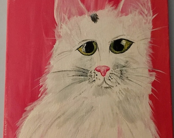 Original Hand Made Custom Pet Painting