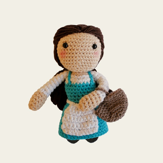Peasant Belle - Disney Princess. Amigurumi Pattern PDF.