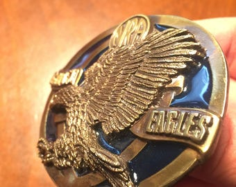 Nra Belt Buckle | NRA Golden Eagles Buckle | Great Deal | NRA Lot | NRA Deal |