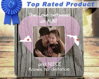 aunt gift auntie gift for niece gift long distance aunt state to state aunt neice nephew gift aunt neice nephew frame auntie gift