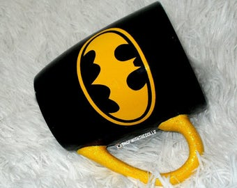 Batman Comic Coffee Cup