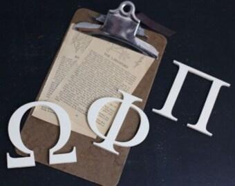 """Greek Letters - Wooden Greek Letter - Custom Greek Letter - Sorority Letters - Fraternity Letters - Wood Greek Letters Decor 8"""""""
