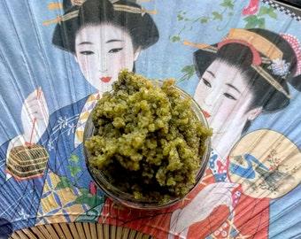Matcha Green Tea Sugar/Salt Scrub (Face or Body!)