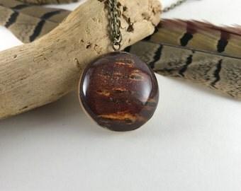 Bark necklace