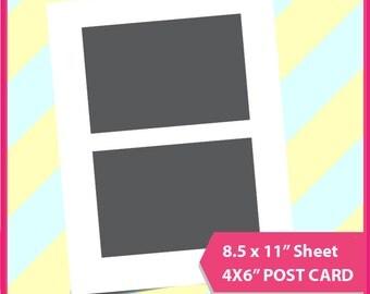 6x4 postcards etsy uk