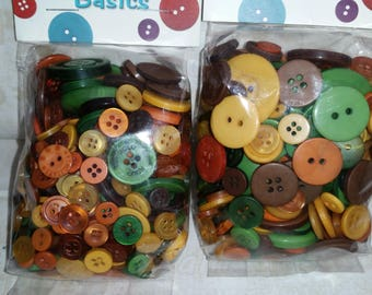 Buttons Galore - Perfect for Embellishment - Fall Festival