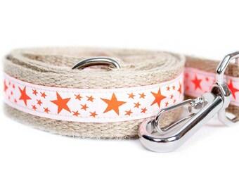 Dog collar / leash NEON ORANGE
