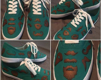 "Custom painted shoes! ""It Grows on You"" (toms, keds, vans, canvas)"