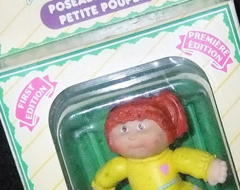 Cabbage Patch Kids Cherry Lou First Edition vintage 1984 (Born April 22nd 1984) figure boxed by Applause made in China
