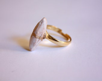 Cillì-ceramic/Stone Ring Ring Clay Clay-ceramic stone (made in Italy)