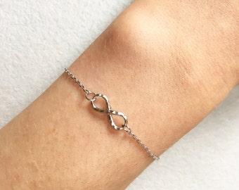 Infinity Bracelet ~ Silver/Gold