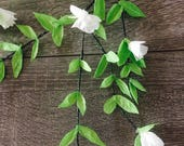Green Paper Leaf Garland,...