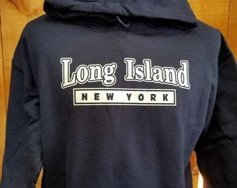 Long Island, New York Hoodie
