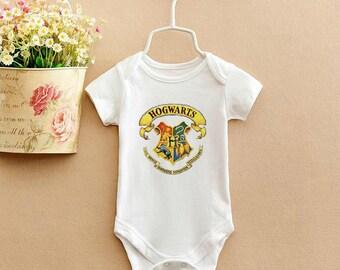 Hogwarts, Baby Bodysuit, Newborn